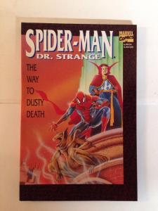 Spider-man Dr Strange The Way To Dusty Death Tpb Near Mint