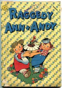RAGGEDY ANN AND ANDY #3 1946-DELL COMICS-DAN NOONAN ART G