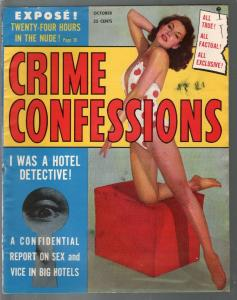 Crime Confessions 10/1956-Skye-lynch mob-hooded menace-terror-FN-