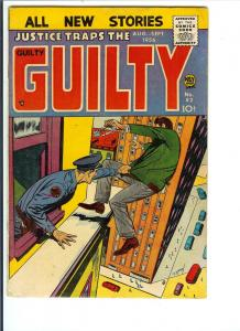 Justice Traps the Guilty #82 (Fine) Aug/Sept. 1956
