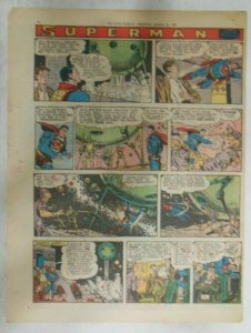 Superman Sunday Page #909 by Wayne Boring from 3/31/1957 Size ~11 x 15 inches