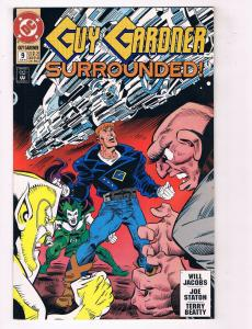 Guy Gardner #9 VF DC Comics Comic Book Green Lantern June 1993 DE38 AD11