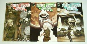 White Picket Fences #1-3 FN/VF complete series - ape entertainment set 2007 2