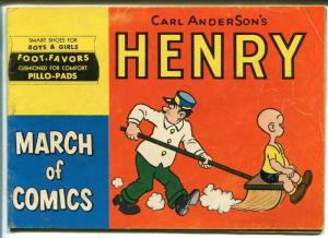March of Comics #101 1953-Dell-Henry-Carl Anderson-5 X 7 1/4-VG