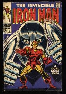 Iron Man #8 VG 4.0