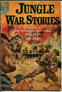 Jungle War Stories #8 1964-Dell-Viet Cong-Tommy Gun cover-VG
