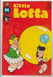 Little Lotta #92 (Oct-90) FN/VF Mid-High-Grade Little Lotta