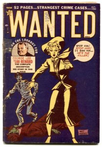 Wanted #30 1950- Golden Age Crime G