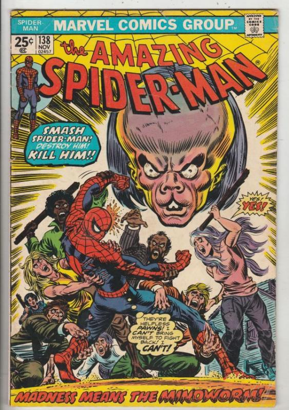 Amazing Spider-Man #138 (Nov-74) VG+ Affordable-Grade Spider-Man