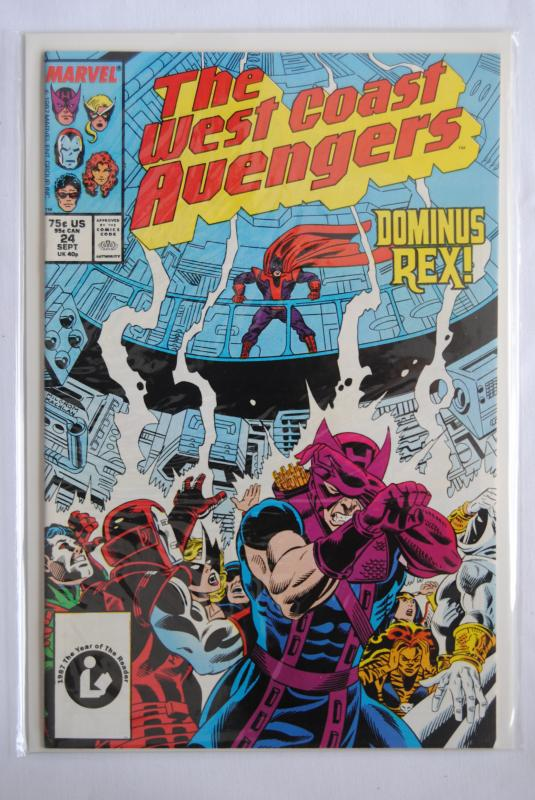 The West Coast Avengers 24