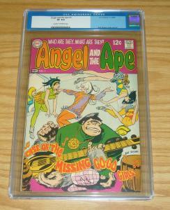 Angel and the Ape #1 CGC 8.0 silver age dc comics 1968 bob oksner hippy hippies
