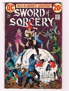 Sword Of Sorcery #2 VG DC Comics Bronze Age Comic Book May 1973 DE47 AD33