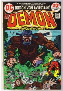 DEMON #11, VF, Jack Kirby, 4th World, Evilstein, 1972, more JK in store