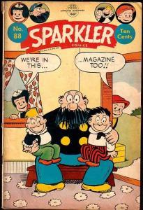 SPARKLER COMICS #88-NANCY/SLUGGO/ERNIE BUSHMILLER VG