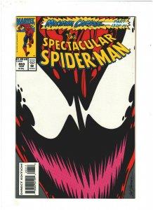 Spectacular Spider-man #203 NM- 9.2 Marvel 1993 Maximum Carnage pt.13, Venom