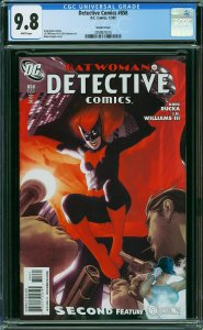 DETECTIVE COMICS #858 (CGC 9.8) Adam Hughes Cover Batwoman