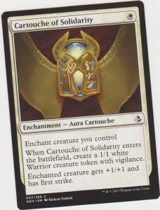 Magic the Gathering: Amonkhet -Cartouche of Solidarity