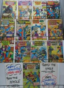 WORLD'S FINEST SILVER AGE READER'S COLLECTION! 13 BOOKS! FR-G Superman-Batman