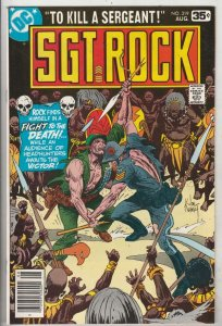 Sgt. Rock #319 (Aug-78) FN/VF+ Mid-High-Grade Sgt. Rock, Easy Co.