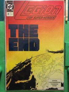 Legion Of Superheroes #38 1989 series