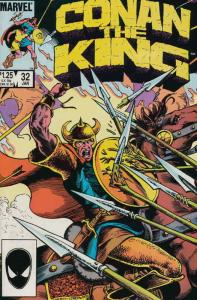 Conan the King #32 VF/NM; Marvel | save on shipping - details inside
