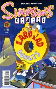 Simpsons Comics #180 VF/NM; Bongo | save on shipping - details inside