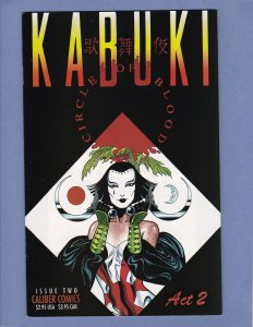 Kabuki Circle of Blood Lot #1 #2 #3 #4 #5 Caliber Comics Lot