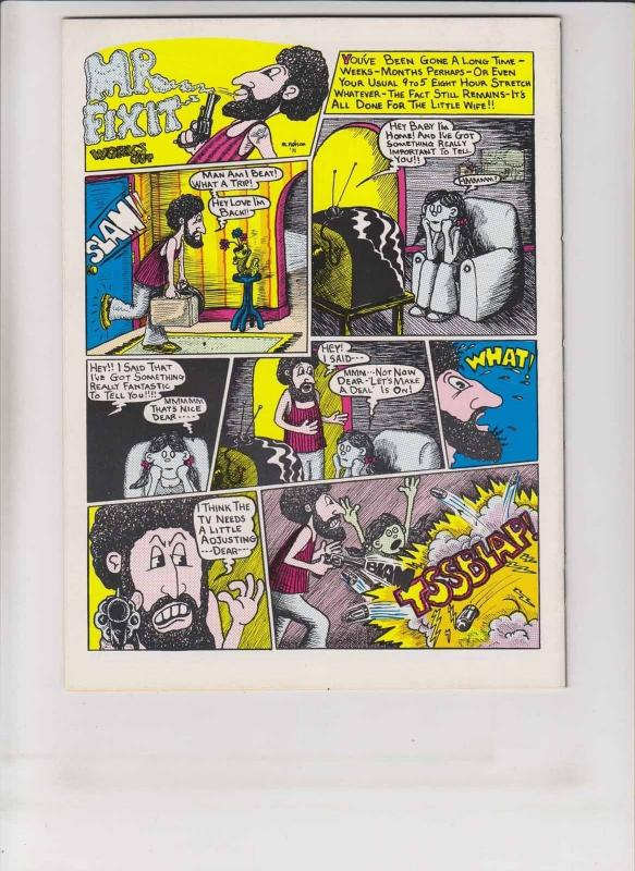 Fuktup Funnies #1 VF (1st) print - head imports - underground comic 1972 duck