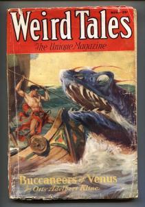 Weird Tales 11/1932-Horror-J. ALLEN ST. JOHN cover-Pulp Magazine