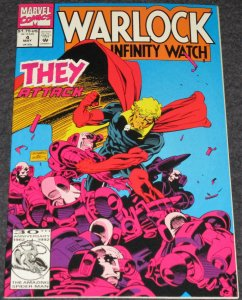Warlcok and the Infinity Watch #4 -1992