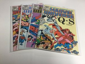 Official Handbook of the Marvel Universe 9 10 11 12 Vf Very Fine 8.0