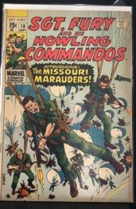 Sgt. Fury #70 (1969)
