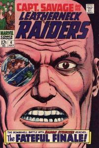 Captain Savage and His Leatherneck Raiders #4, VF- (Stock photo)