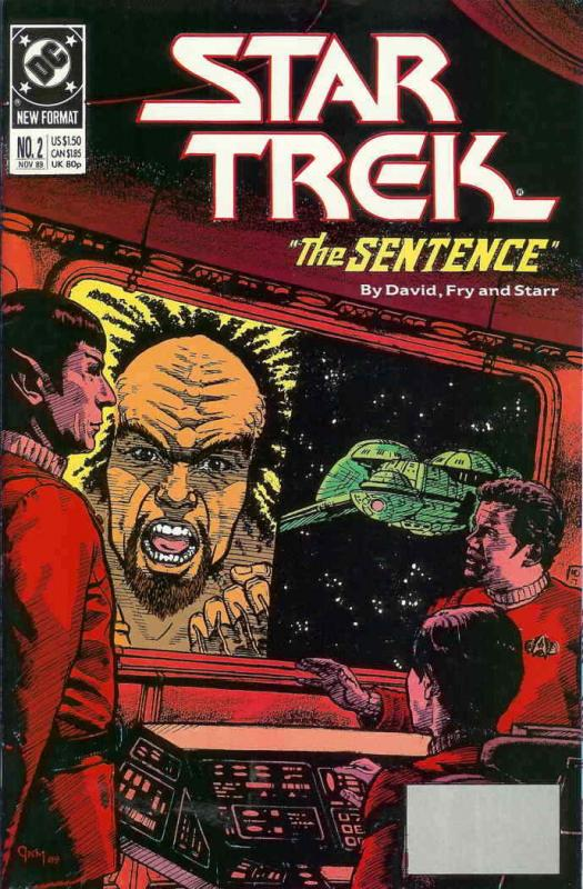 Star Trek (4th Series) #2 VF/NM; DC | save on shipping - details inside