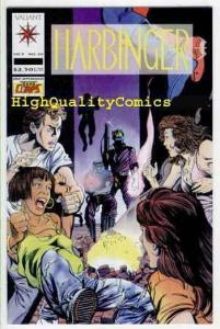 HARBINGER 10, VF+, Valiant, David Lapham, Jim Shooter, 1992, more in store