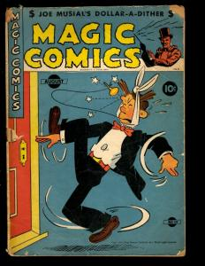 Magic Comics # 49 VG 1943 Comic Book Golden Age King Features Syndicate NE3