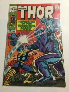 Thor 170 Fn Fine 6.0 Marvel Comics