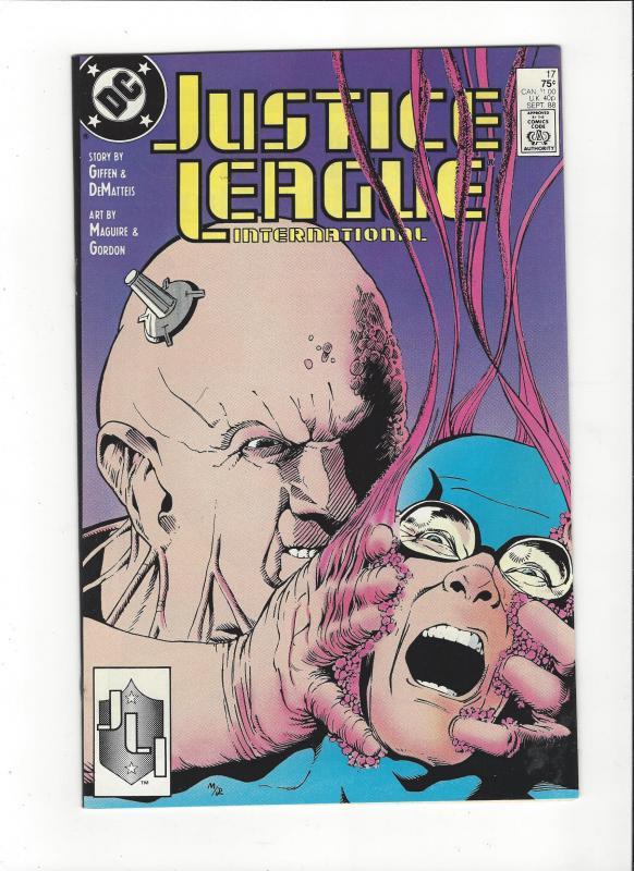 Justice League International #17 1987 DC Comics Copper Age  NM