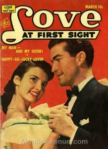 Love at First Sight #20 GD; Ace   low grade comic - save on shipping - details i