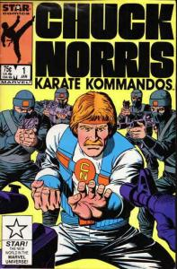 Chuck Norris #1 VF/NM; Marvel Star | save on shipping - details inside
