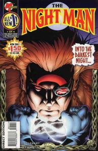 Night Man, The (Vol. 2) #1 VF/NM; Malibu | save on shipping - details inside