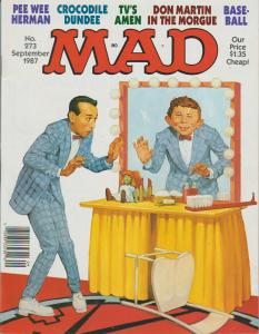MAD MAGAZINE #273 - HUMOR COMIC MAGAZINE