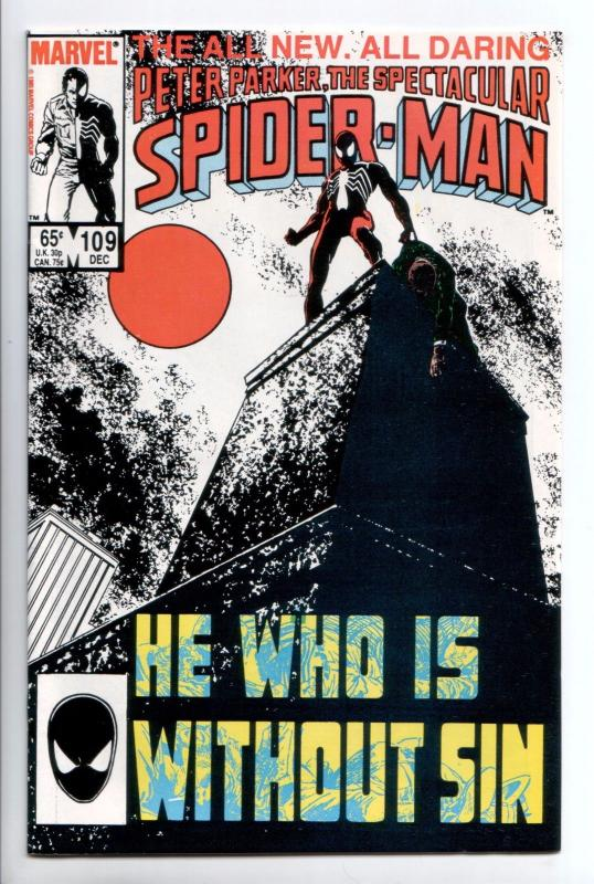 Spectacular Spider-Man #109 - Kingpin (Marvel, 1985) - NM