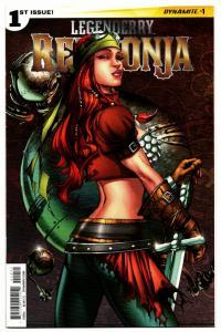 Legenderry Red Sonja #4 Cvr A Dynamite, 2018 VF//NM