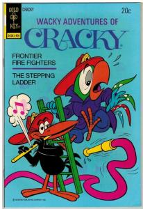 WACKY ADVENTURES OF CRACKY 7 VF+ June 1974 COMICS BOOK