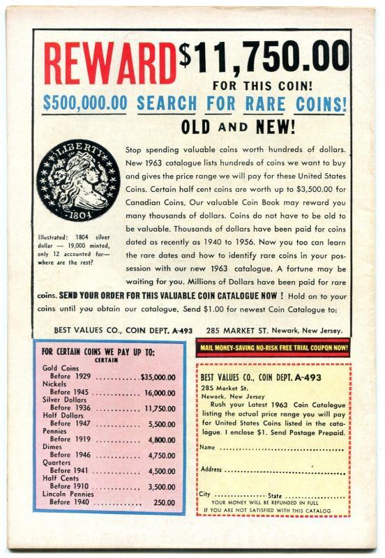 Many Loves of Dobie Gillis #20 1963- DC Silver Age TV comic- Bob