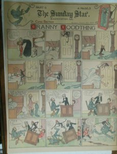Granny Goodthing Sunday Page by Follett  from 3/20/1910 Full Page Size!