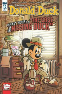 DONALD DUCK #15 1:10 RETAILER INCENTIVE VARIANT NM.