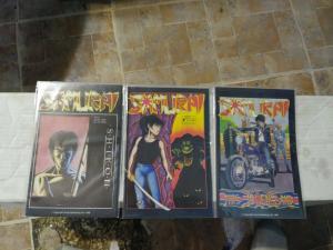 SAMURAI  comics # 4 6 8  1986 AIRCEL