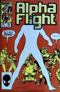 Alpha Flight #25 (1985)